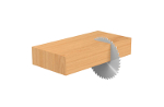 Excellent crosscut on wood.- product picture
