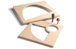 Gabarits de MDF TMP-011 et TMP-012.- photo du produit